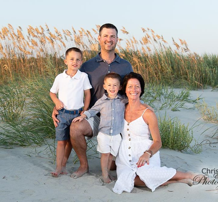 Dilella Family on Kiawah Island