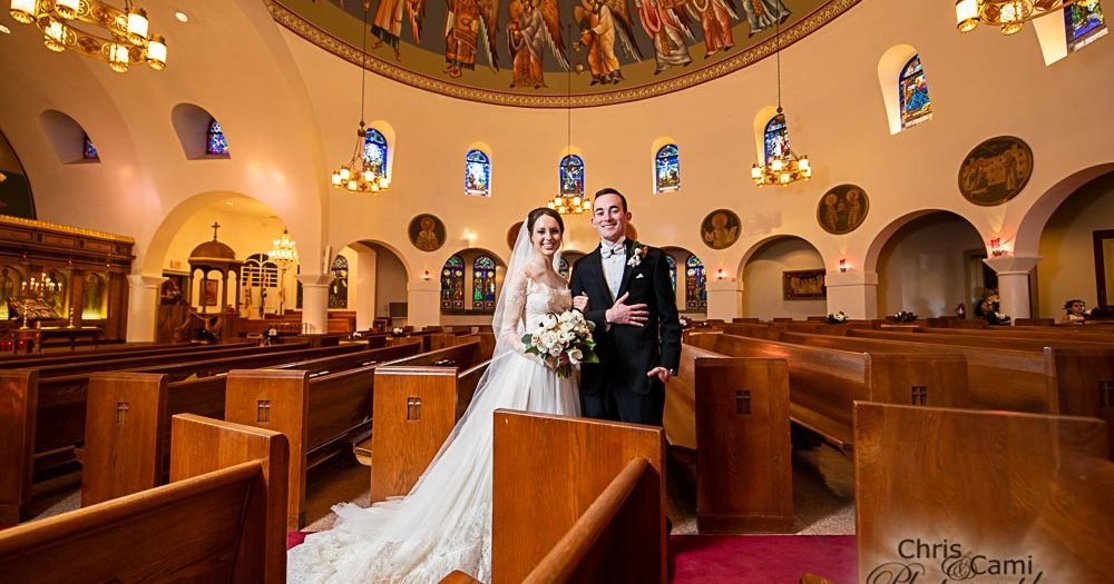 Sommer & Frank at Greek Orthodox Church of The Holy Trinity