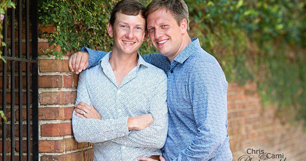 Ben & Kyle's Secret Garden Proposal