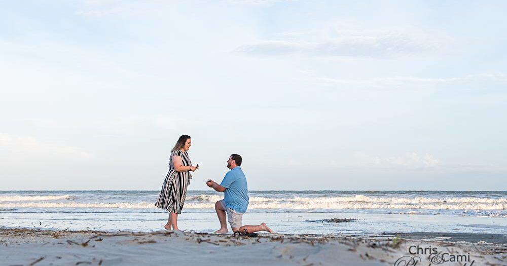 Zach's Surprise Proposal to Starr on Kiawah Island