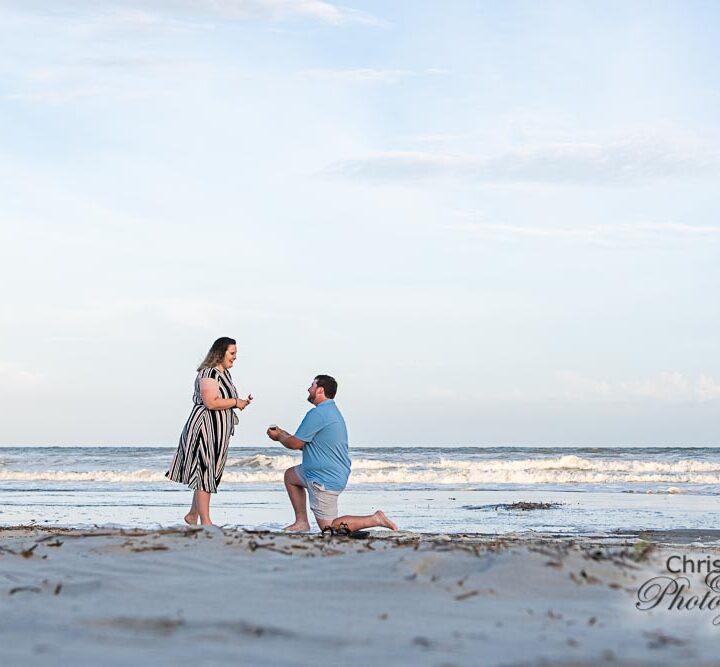Zach's Surprise Proposal to Starr on Kiawah Island