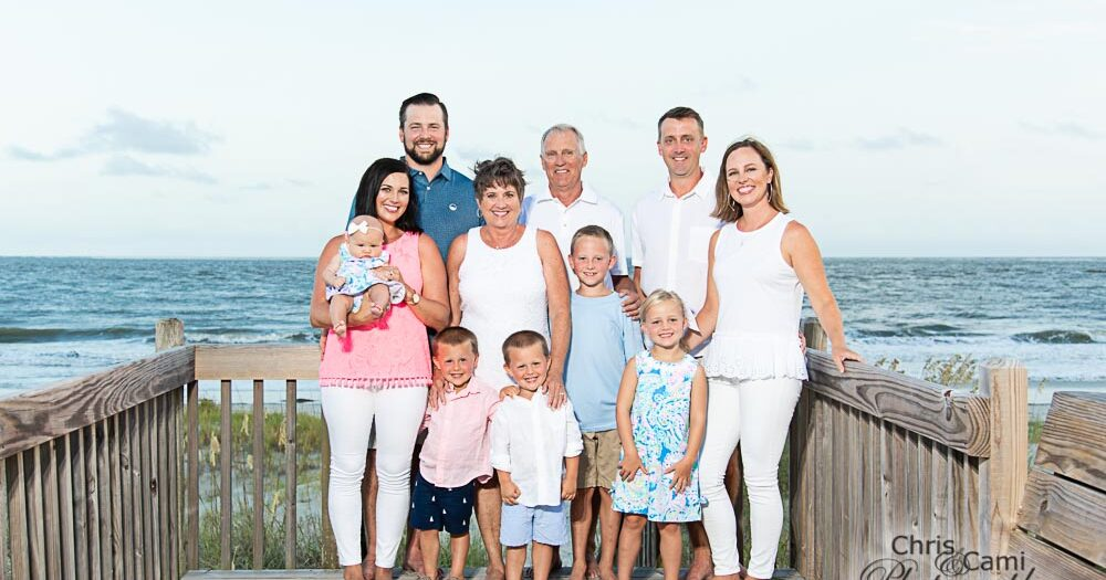 Sutton Family on Seabrook Island