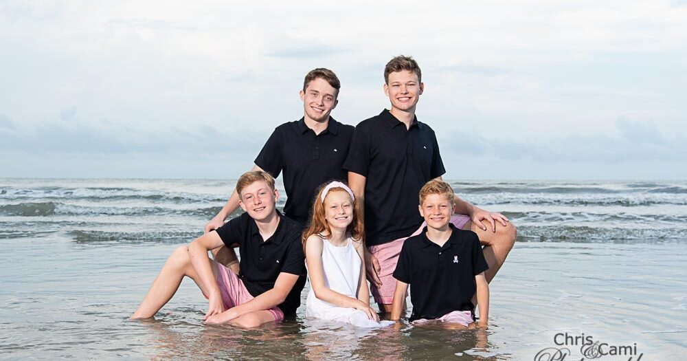 Evans Family on Kiawah Island
