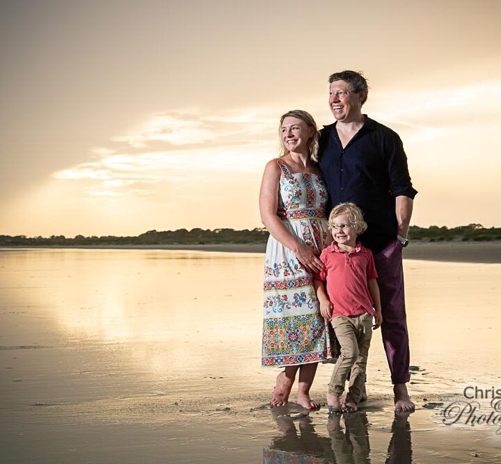Russell Family at The Ocean Course