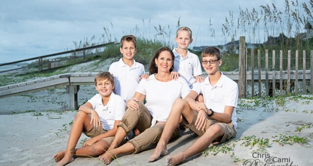 The Hamrick Boys on Isle of Palms