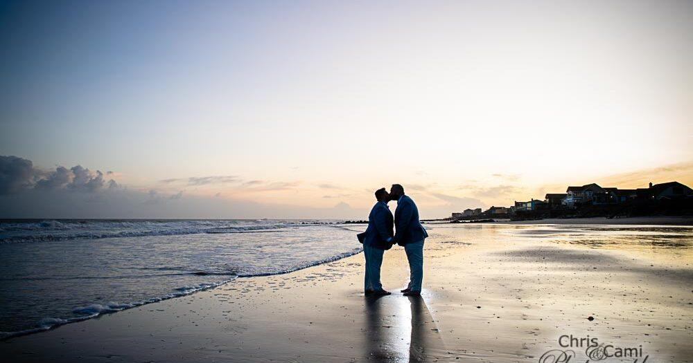 Jeremy & Kyle's Folly Beach Wedding