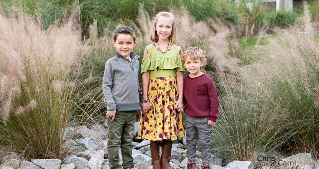 Holmes Family at Timbers Kiawah