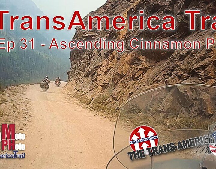 Moto Photo Trans-America Trail EP 31 - Ascending Cinnamon Pass